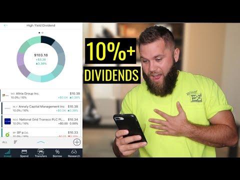 High Yield Dividend Stocks | M1 Finance Portfolio (Better Than Robinhood?!)