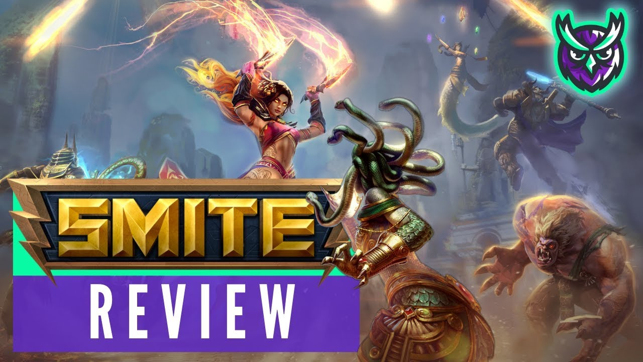 SMITE Switch Review - The best free to play MOBA? 2019