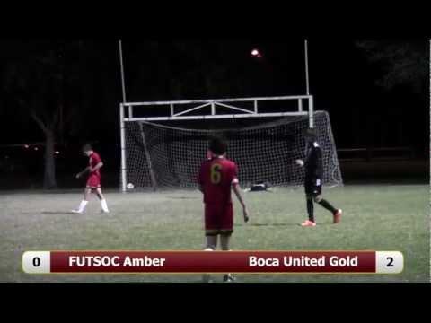 FUTSOC Amber V Boca United Gold U15