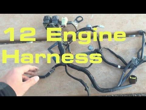 12. Engine Wiring Harness - Wiring Harness Series
