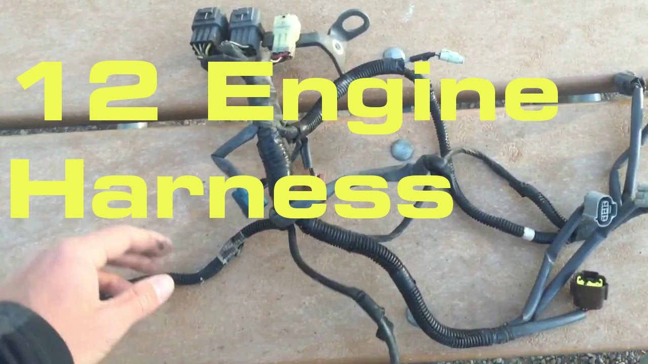 small resolution of engine wiring harness wiring harness series youtube