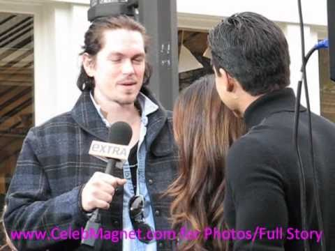 Sarah Shahi flirts with Mario Lopez in front of hubbie Steve Howey