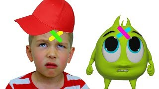 Download Рома и Хелпик поют ПЕСЕНКУ для детей The boo boo song for kids! Mp3 and Videos