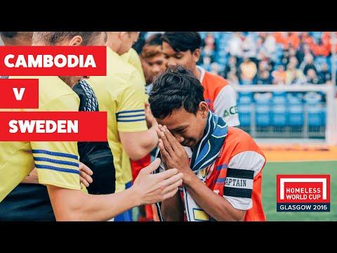 Cambodia v Sweden I Men's Globe Final #HWC2016