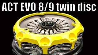 EVO ACT twin disc clutch - First Look