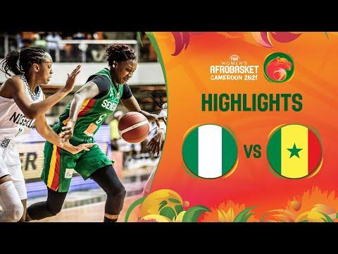Nigeria - Senegal   Game Highlights - FIBA Women's AfroBasket 2021
