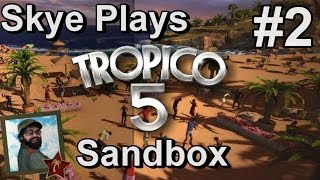Tropico 5: Gameplay Sandbox #2 ►Population and Plantations◀ Tutorial/Tips Tropico 5