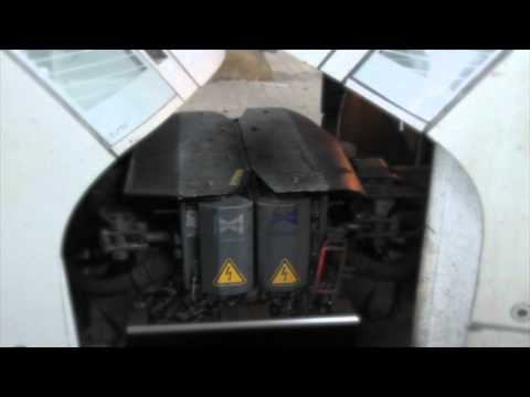 Slow Motion: German ICE T Highspeed Train coupling together