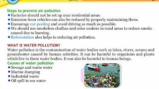 Pollutions of Environment