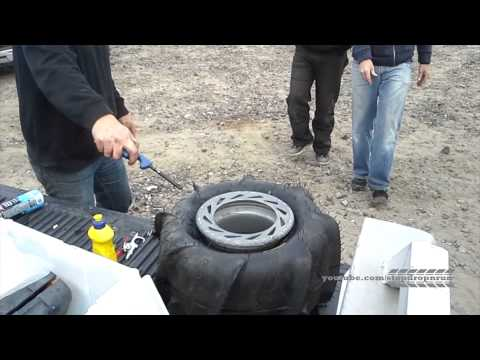 Quick Inflate Tire With Fire