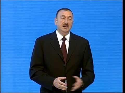 İlham Əliyevin Yeni Azərbaycan Partiyasının V qurultayında nitqi