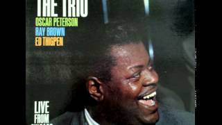 Oscar Peterson Trio in the wee small hours of the morning