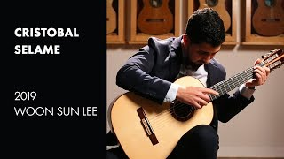"Baden Powell's ""Retrato Brasileiro"" played by Cristobal Selame on a 2019 Woonsun Lee"