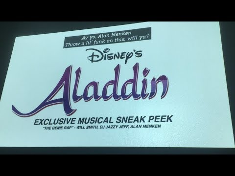 EXCLUSIVE: Aladdin (2019) – Will Smith/Alan Menken Music Sneak Peek!
