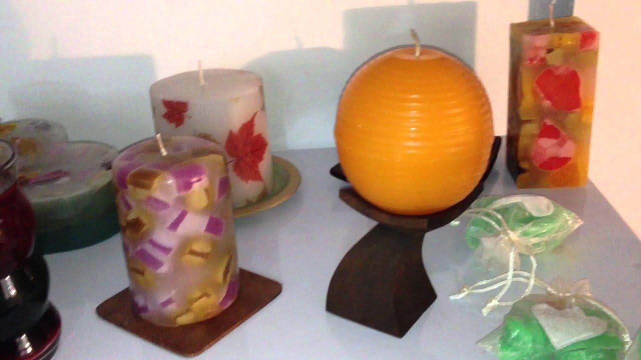 Taller ariam velas artesanales youtube - Como hacer puff artesanales ...