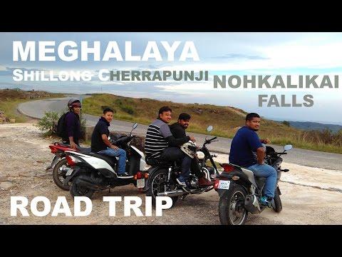 BIKE TRIP FROM GUWAHATI TO SHILLONG | CHERRAPUNJI | NOHKALIKAI FALLS | MEGHALAYA | NORTHEAST INDIA
