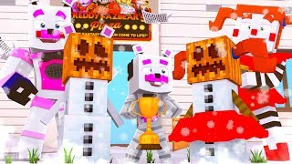Snowman Building Contest ?! | Minecraft FNAF Roleplay