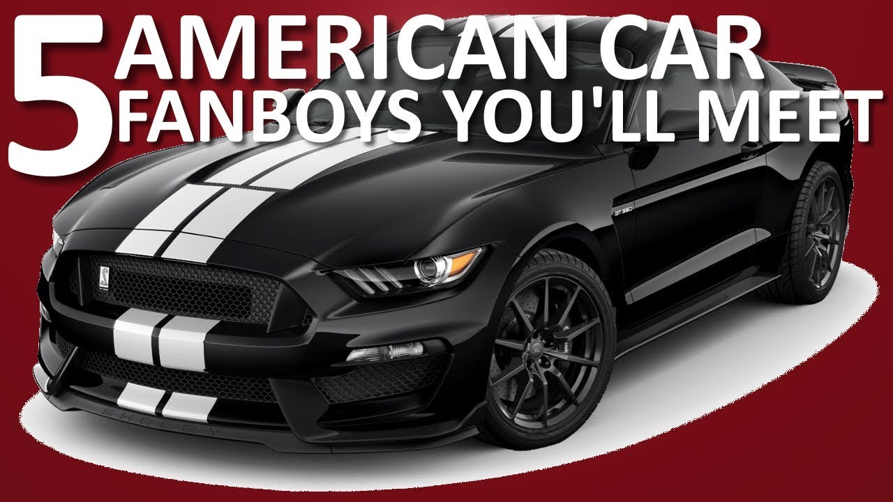 5 Types of Car Guys You\'ll Meet | Murica Edition - YouTube
