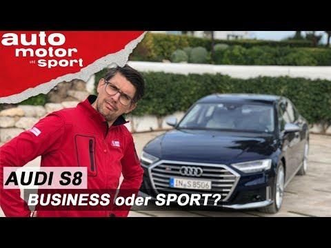Audi S8 (2019): Dank Otto-Motor ein echter Sportler? – Review/Fahrbericht   auto motor und sport