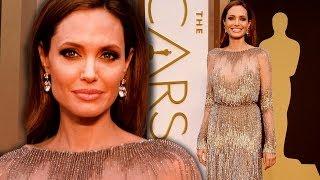 Angelina Jolie on the Red Carpet Oscars 2014