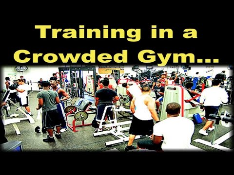 How To Modify Your Workouts in a Crowded Gym