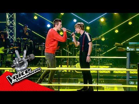 Louis en Jente zingen 'Home' | The Battles | The Voice van Vlaanderen | VTM