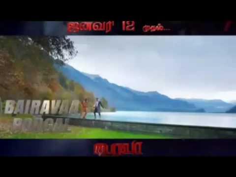 Bhairava Azhakiya Soodana Poove Promo Video Song  Ilayathalapathy Vijay  Keerthy Suresh