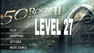 Can You Escape The 100 room 11 level 27 Walkthrough