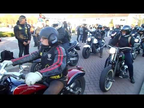Peringatan Ride Out Capelle aan de IJssel 08-04-2017
