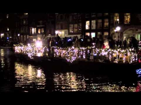 Christmas Canal Parade 2012 Amsterdam, Holland (The Netherlands)