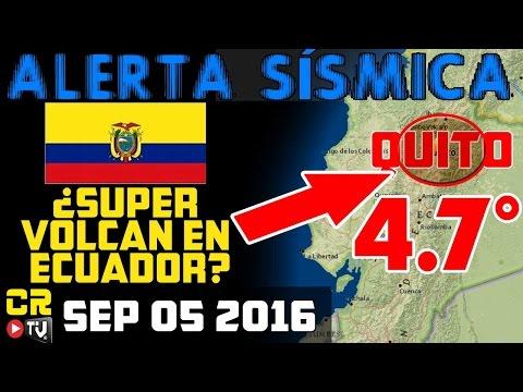 ALERTA SISMICA -  M4.7 ECUADOR | M4.4 ROSA DE ZARATE |  SON LOS VOLCANES