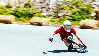 POV Downhill Longboarding with a Twist: No Hands Allowed | Red Bull No Paws Down