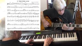 A Time For Love - Jazz guitar & piano cover ( Johnny Mandel ) Yvan Jacques