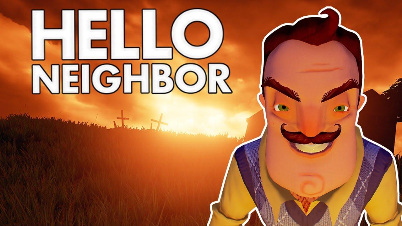 Hello Neighbor Killing The Neighbor Let S Play Hello