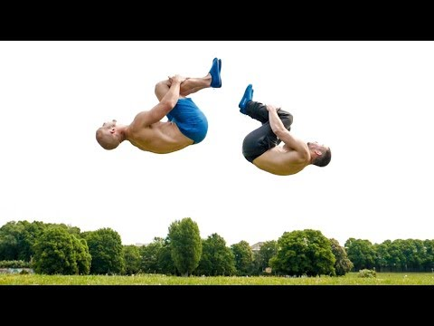 How to Learn a Backflip (Without BREAKING Your NECK)