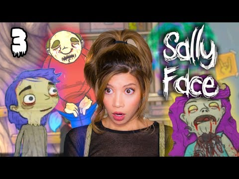 MY BUILDING IS SO HAUNTED - Sally Face Episode 2 Part 2