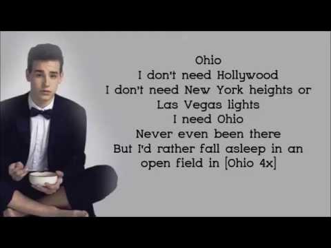 Jacob Whitesides - Ohio [Lyrics Video]