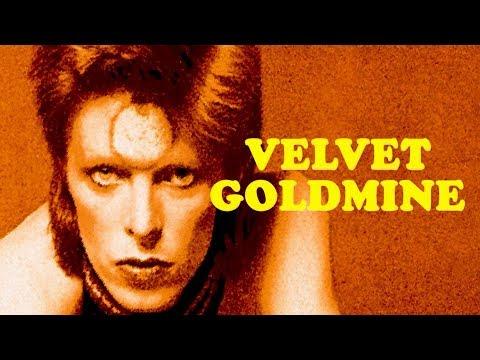 David Bowie 'Velvet Goldmine' 2002 remastered Ziggy outtake (with Lyrics; HD)