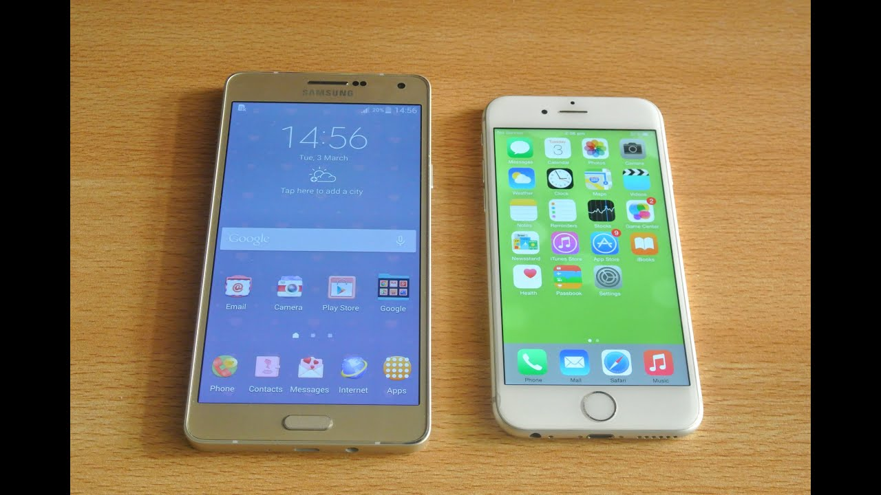 Samsung A7 6 2019 Vs Iphone 6