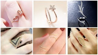 Latest Gold & Silver/ Diamonds Rings Designs Collection