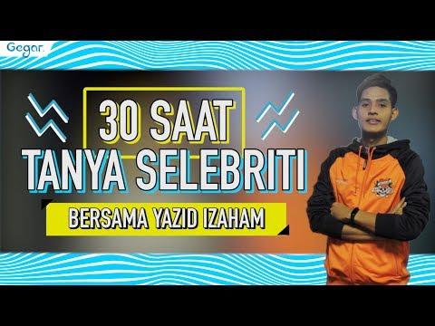 30 Saat Tanya Selebriti - Yazid Izaham