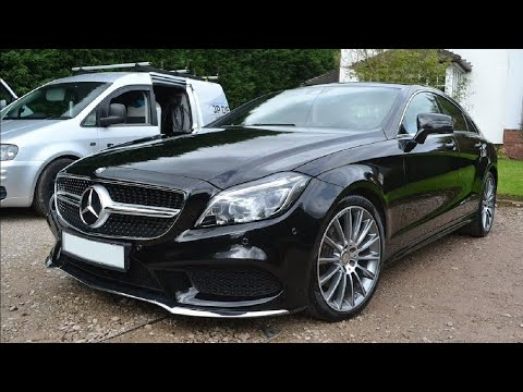 **Wash, Polish & Wax - Mercedes CLS220 AMG**