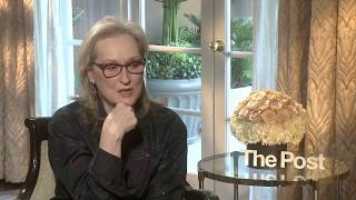 Five Minutes With: Meryl Streep on her new film The Post