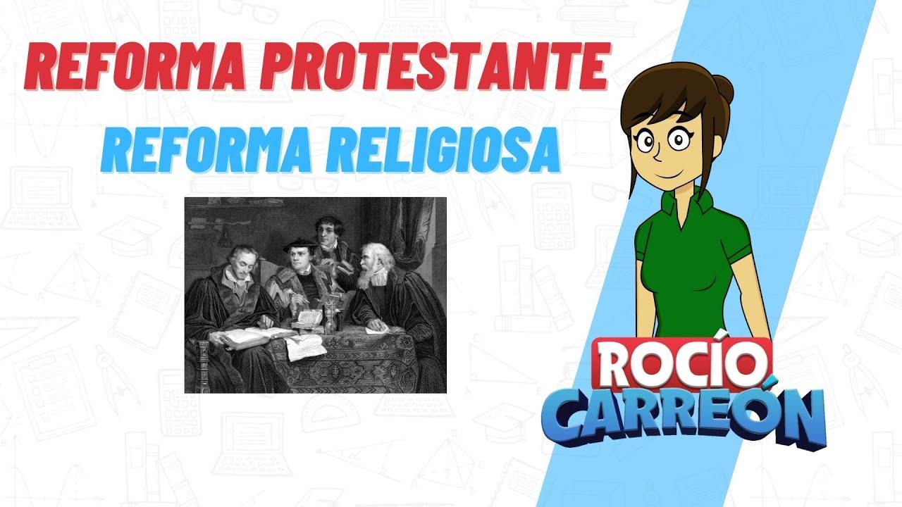 REFORMA PROTESTANTE  - REFORMA RELIGIOSA