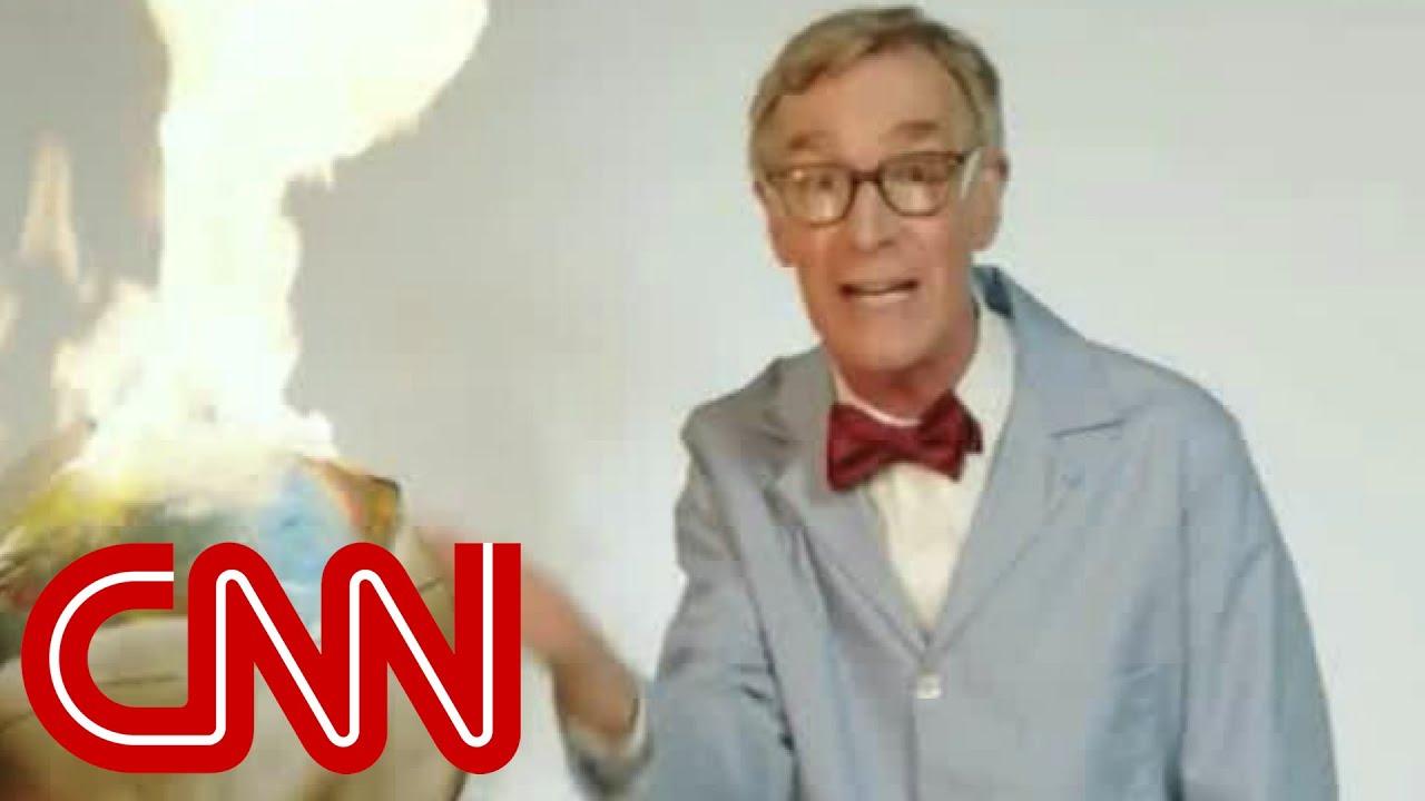 Download Bill Nye's profanity-laced video goes viral