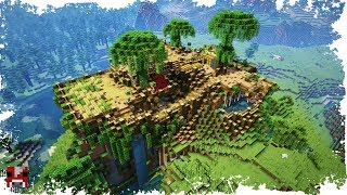 Minecraft Timelapse AMAZING BASE On A HILL WORLD DOWNLOAD
