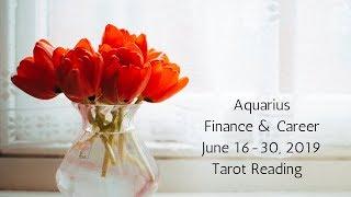 Aquarius June 16-30, 2019 // You're A Rockstar, Believe It // Tarot Reading