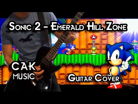 Sonic 2 - Emerald Hill Zone ( Guitar Cover ) +Tabs