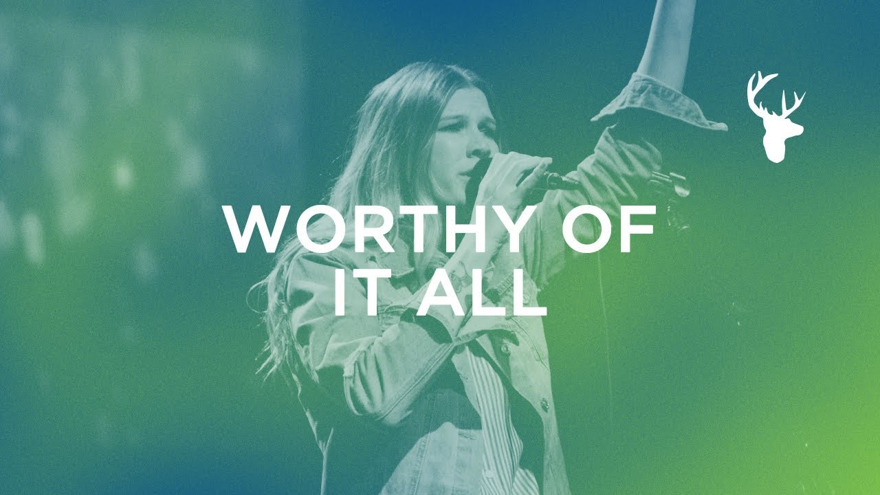 Worthy Of It All Worship Moment Bethany Wohrle Youtube