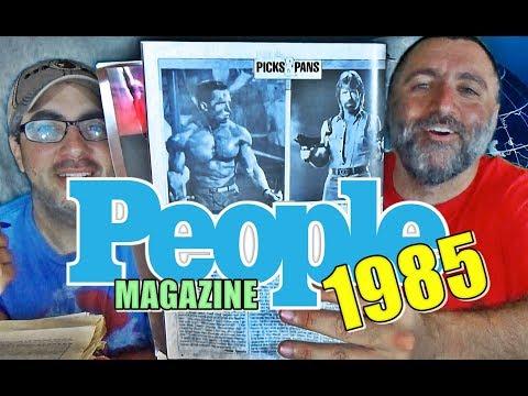 Flippin Thru PEOPLE MAGAZINE (1985) | The ATTIC DWELLERS